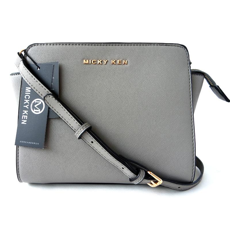 b2d99b236e Micky Ken Luxusní kabelka MK3038 GREY