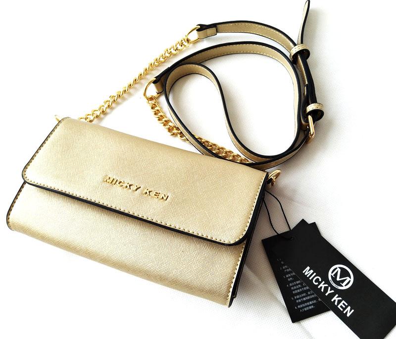 468eeec81a Micky Ken Luxusní kabelka MK671 GOLD