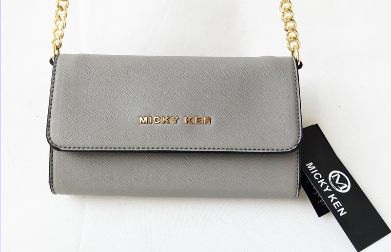 3954991552 Micky ken luxusni kabelka mk671 grey levně