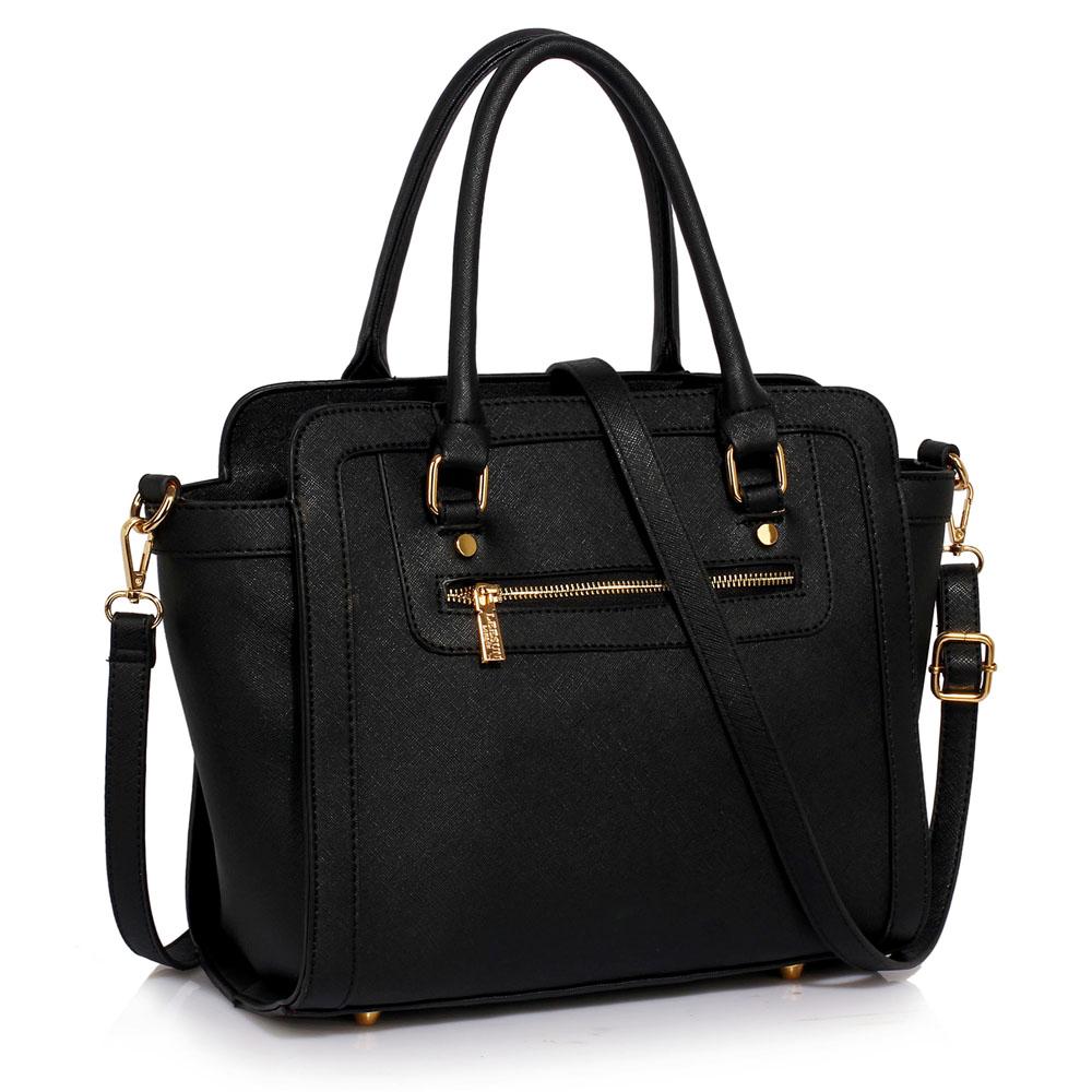 LS Fashion Elegantní kabelka LS00255A_BLACK