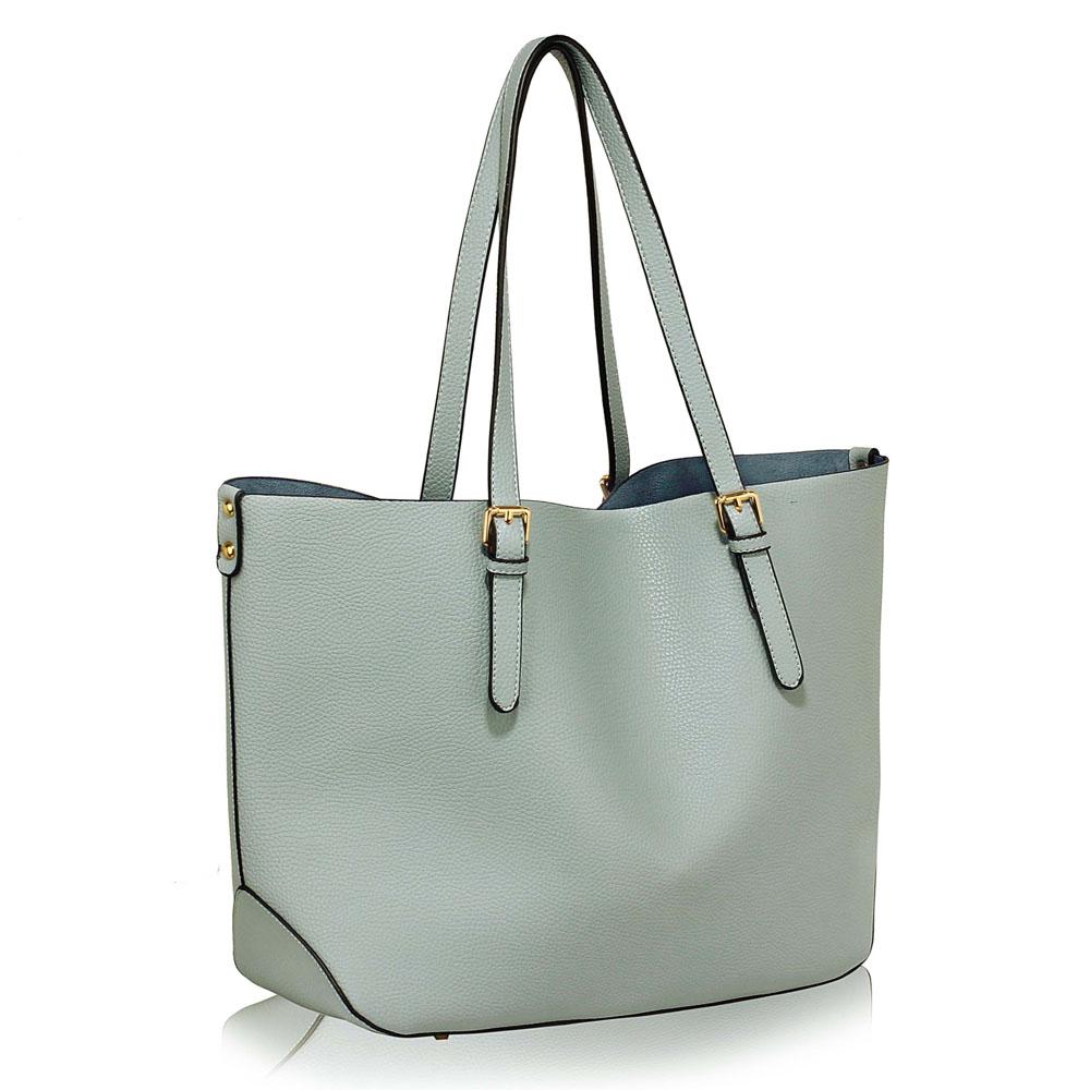 LS Fashion Moderní kabelka LS00265_BLUE