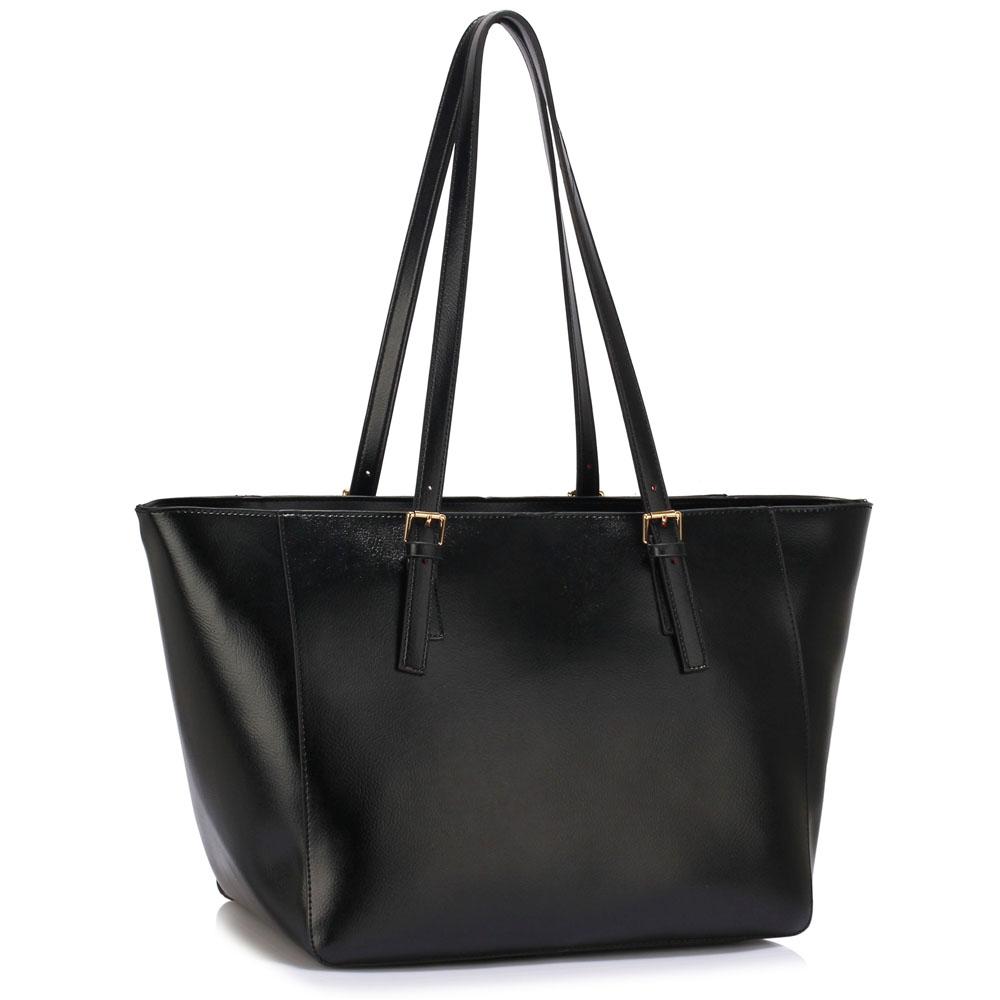 LS Fashion Elegantní kabelka LS00498_BLACK