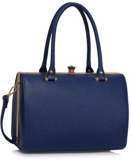LS Fashion Elegantní kabelka LS00510_NAVY