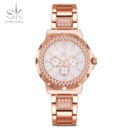 ba6d7c3f9 SK Shengke hodinky Zero K0032_ROSEGOLD