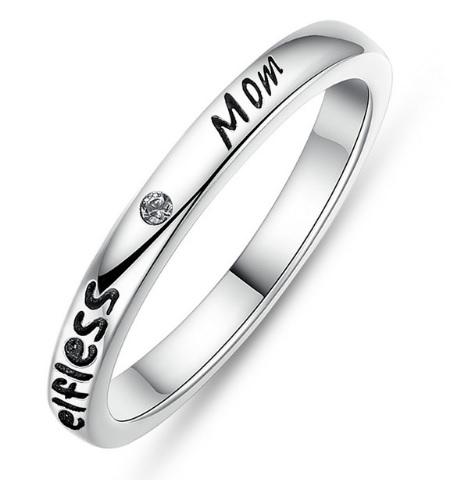 Stříbrný prsten MOM Royal Fashion SCR031 Velikost: 57 mm