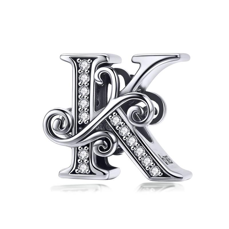 Royal Fashion přívěsek Písmeno K BSC030-K