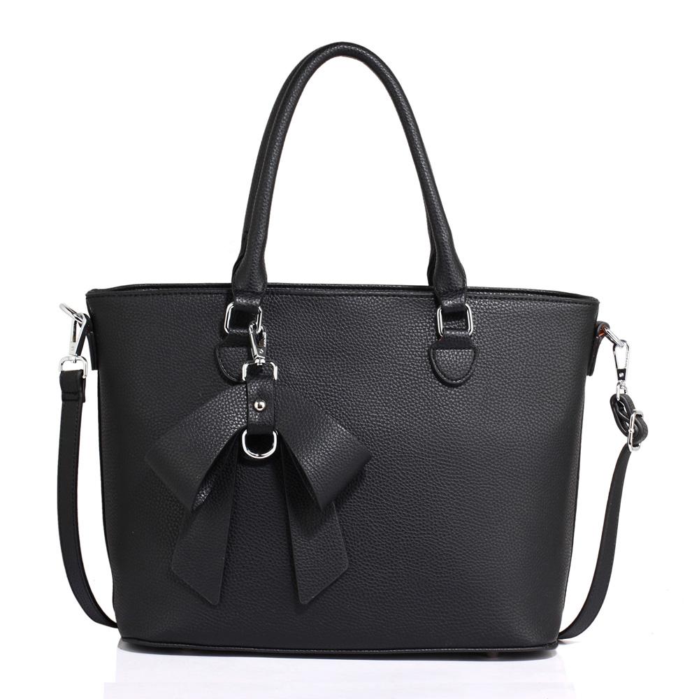 Anna Grace Elegantní kabelka AG00531_BLACK