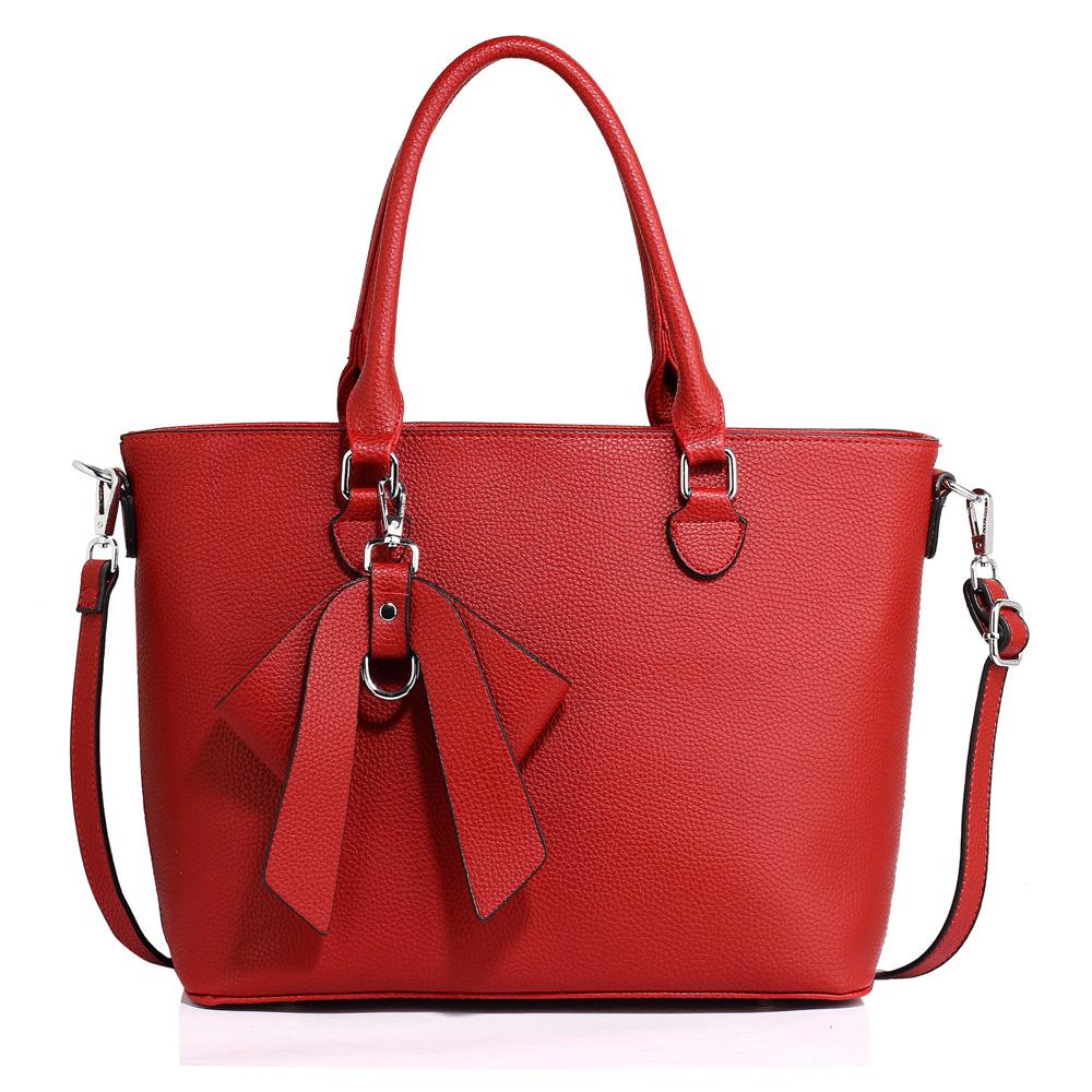 Anna Grace Elegantní kabelka AG00531_RED