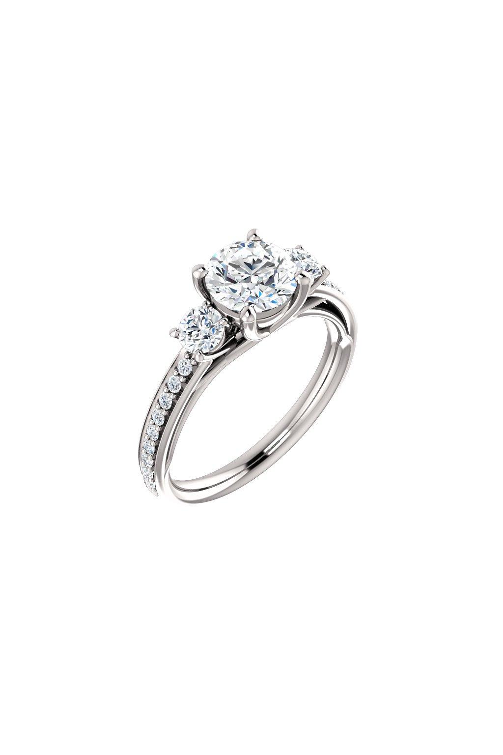Zásnubní prsten Crystal Stars