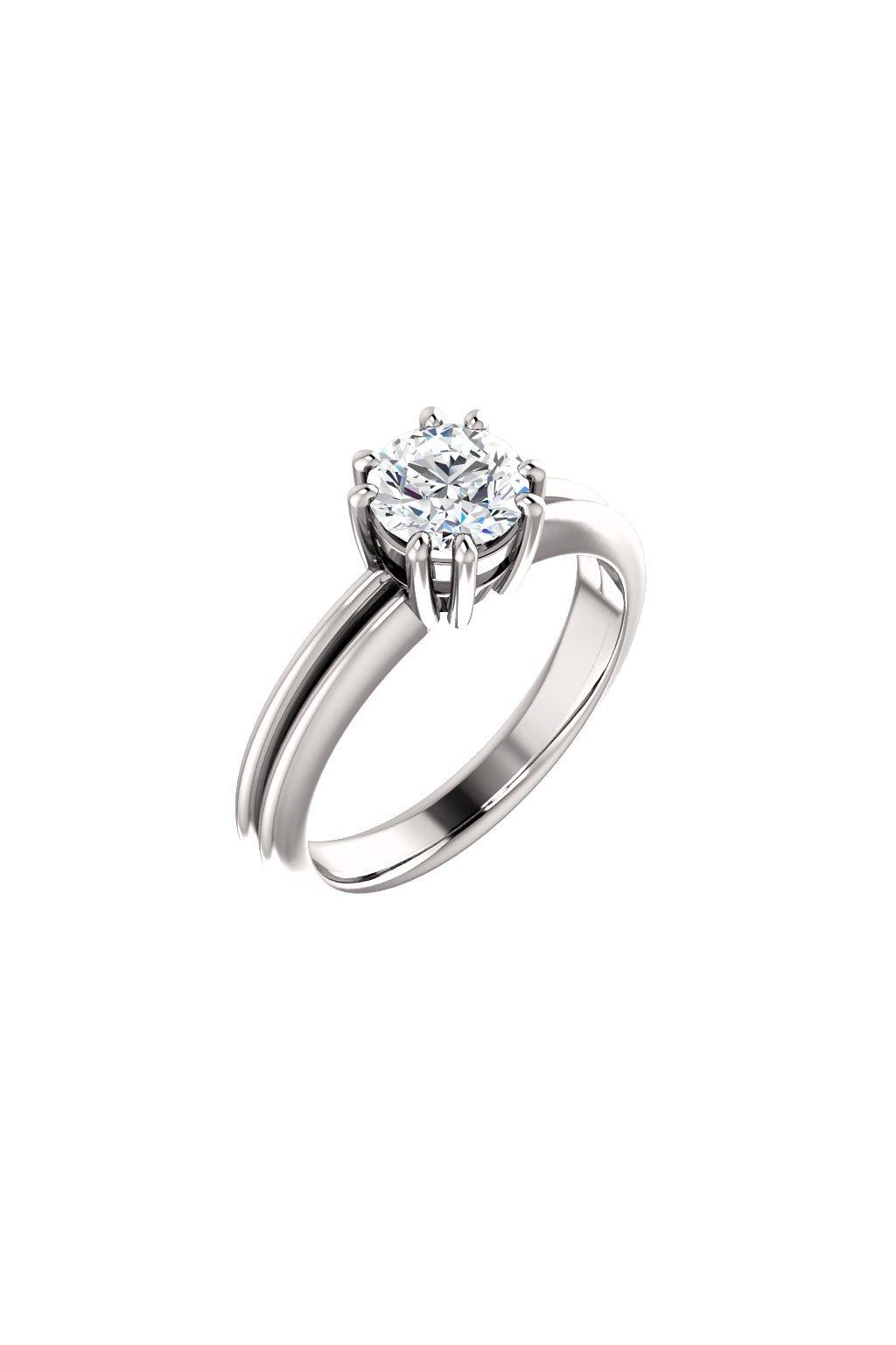 Zásnubní prsten ROYALIS CROWN s Diamantem