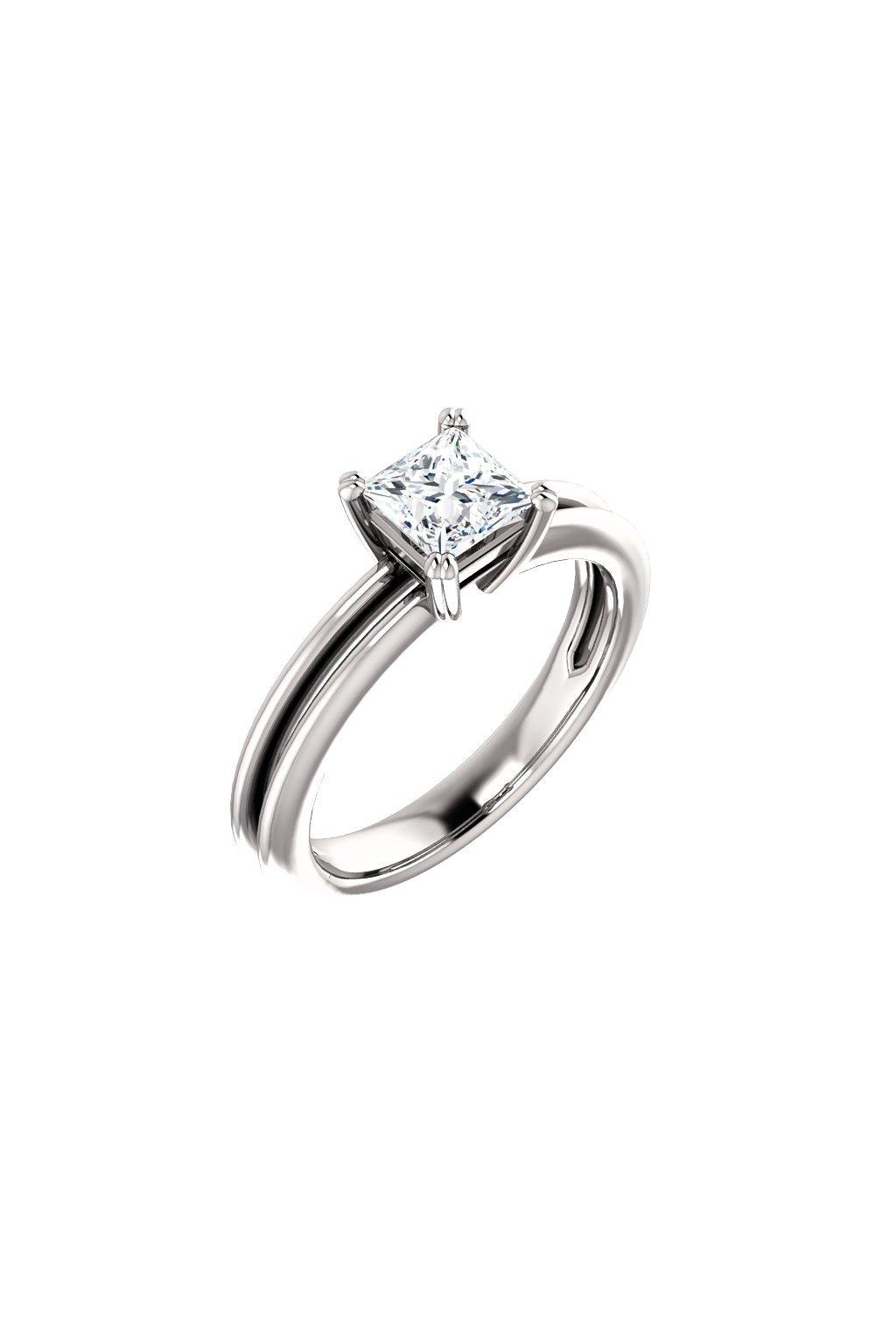 Zásnubní prsten ROYALIS BLAZE s Diamantem