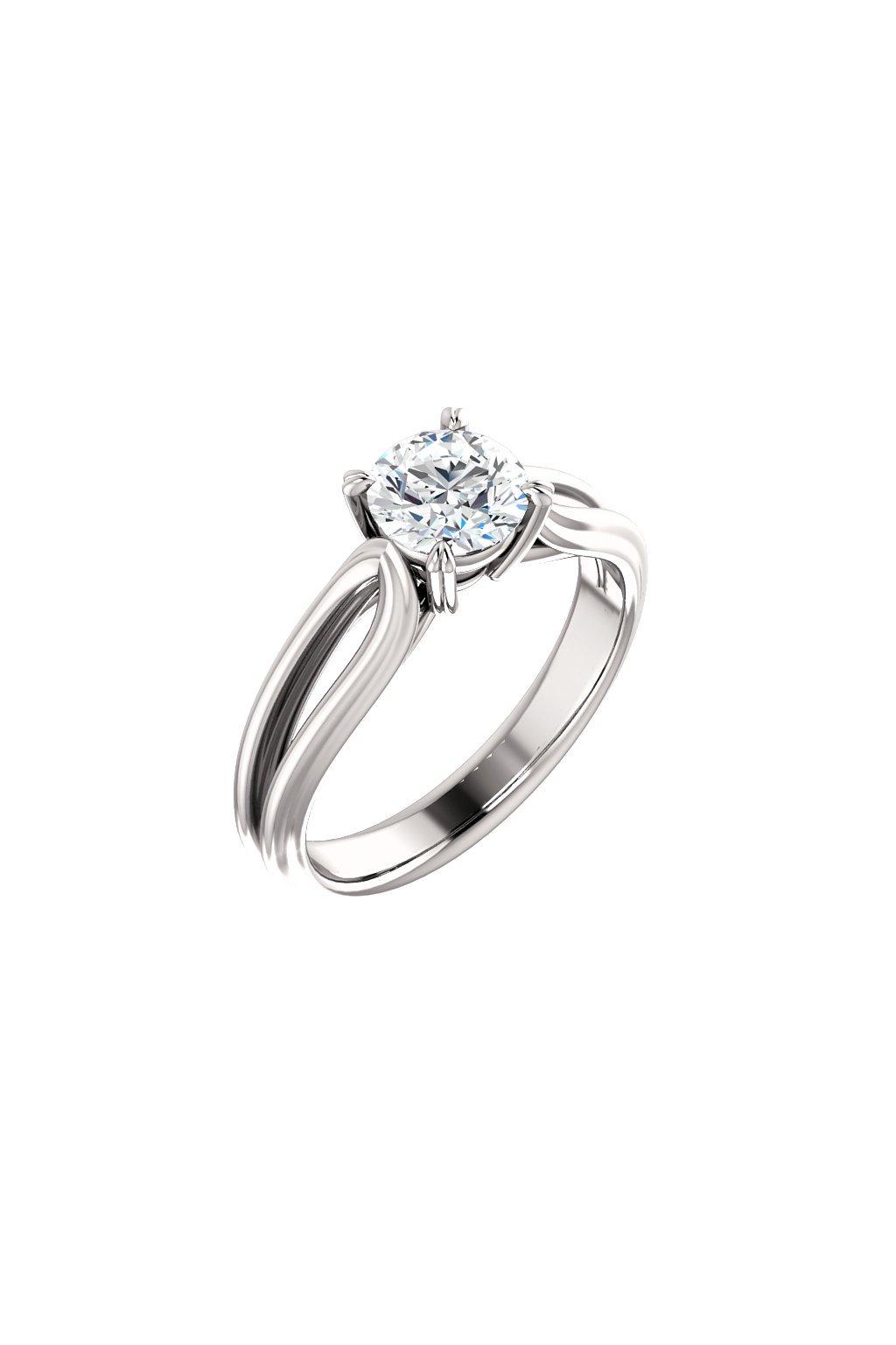 Zásnubní prsten ROYALIS ELEGANCE s Diamantem