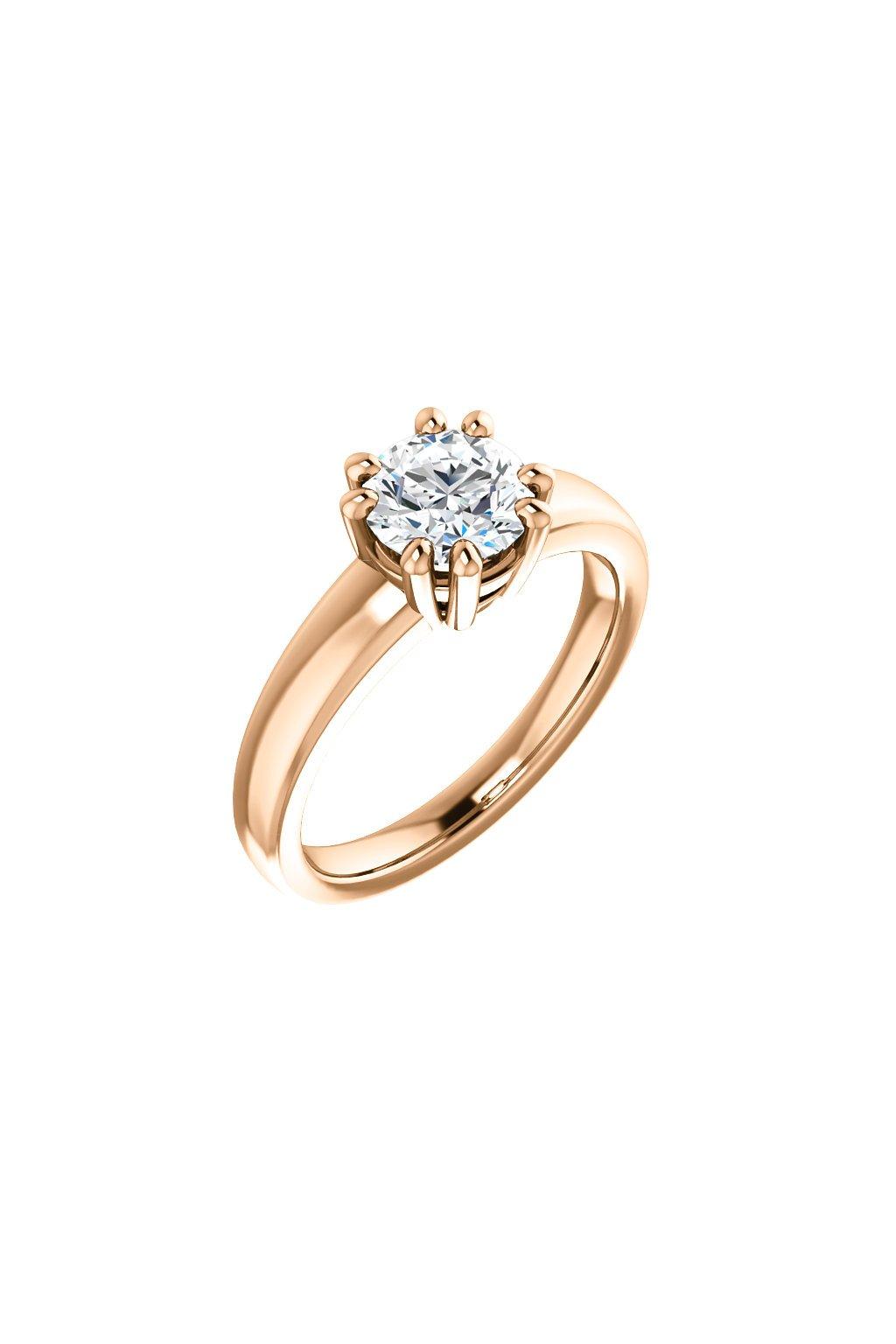 Zásnubní prsten ROYALIS QUEEN s Diamantem
