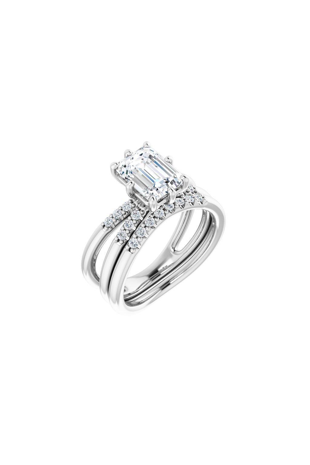 Zásnubní prsten Royalis  s 0,5Ct. brilantním diamantem
