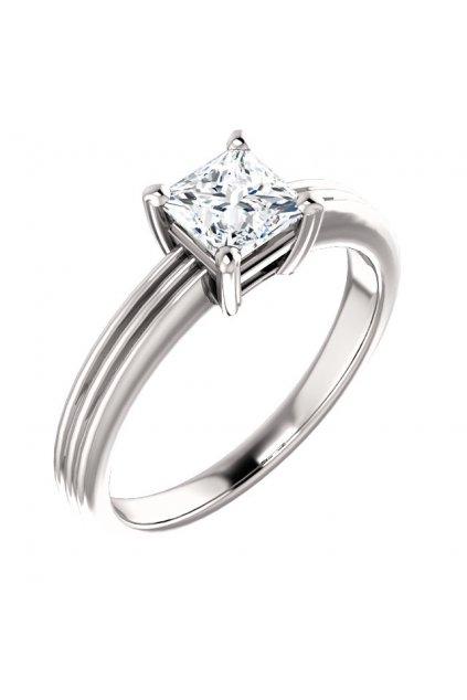 Zásnubní prsten ROYALIS TRILINE s Diamantem