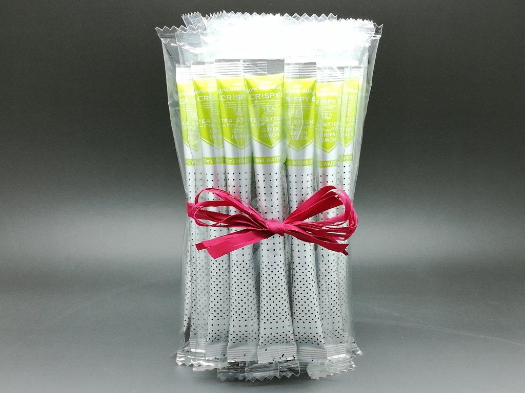 Royal T- Stick CRISPY, Balíček zelených čajů s citronem 25 ks