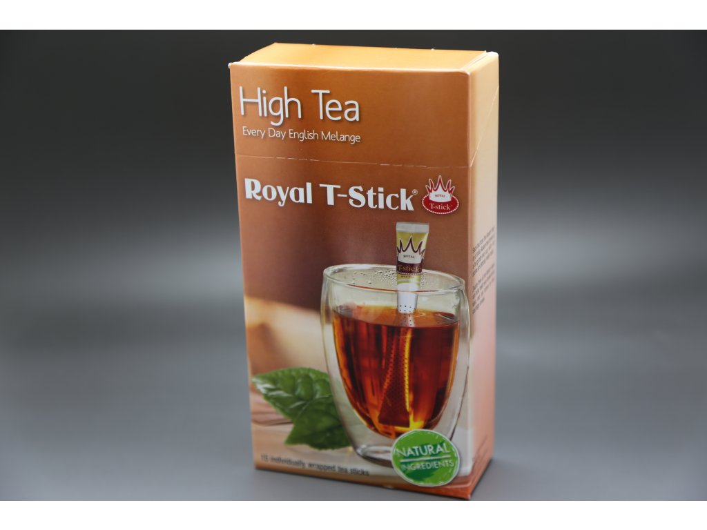 Černý čaj High Tea 15 ks Royal T- Stick