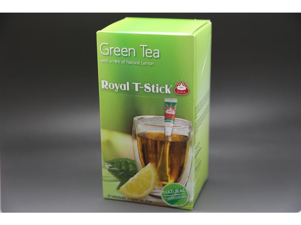 Zelený čaj citrón 30 ks Royal T- Stick