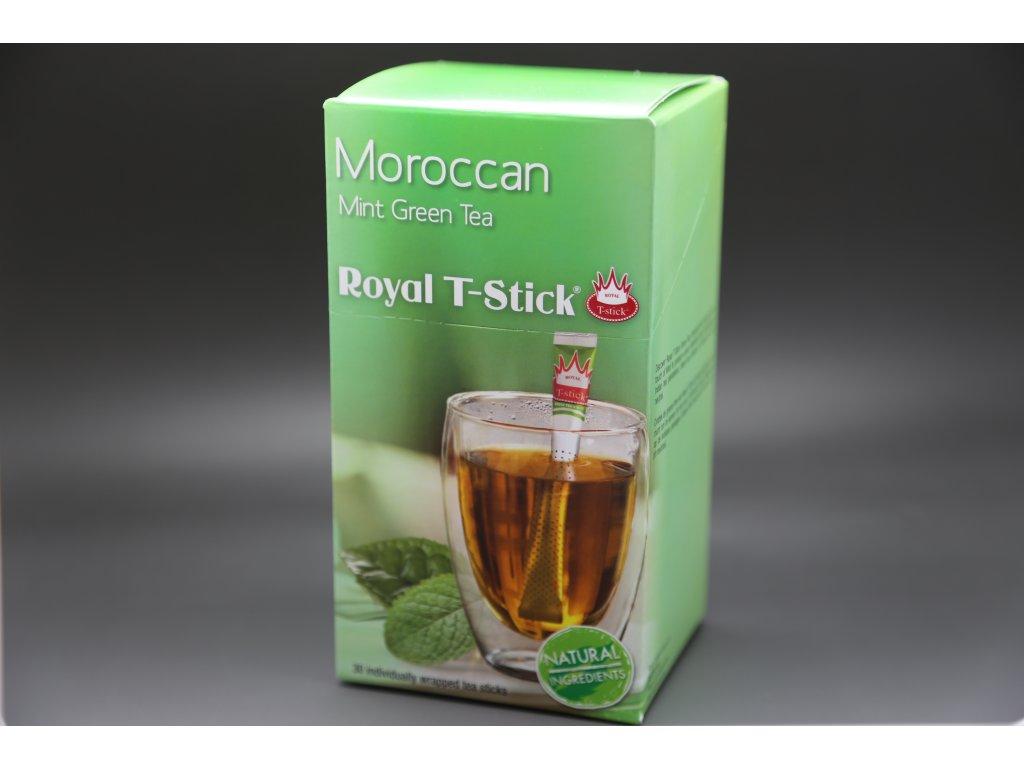 Zelený čaj Marocká máta 30 ks Royal T- Stick