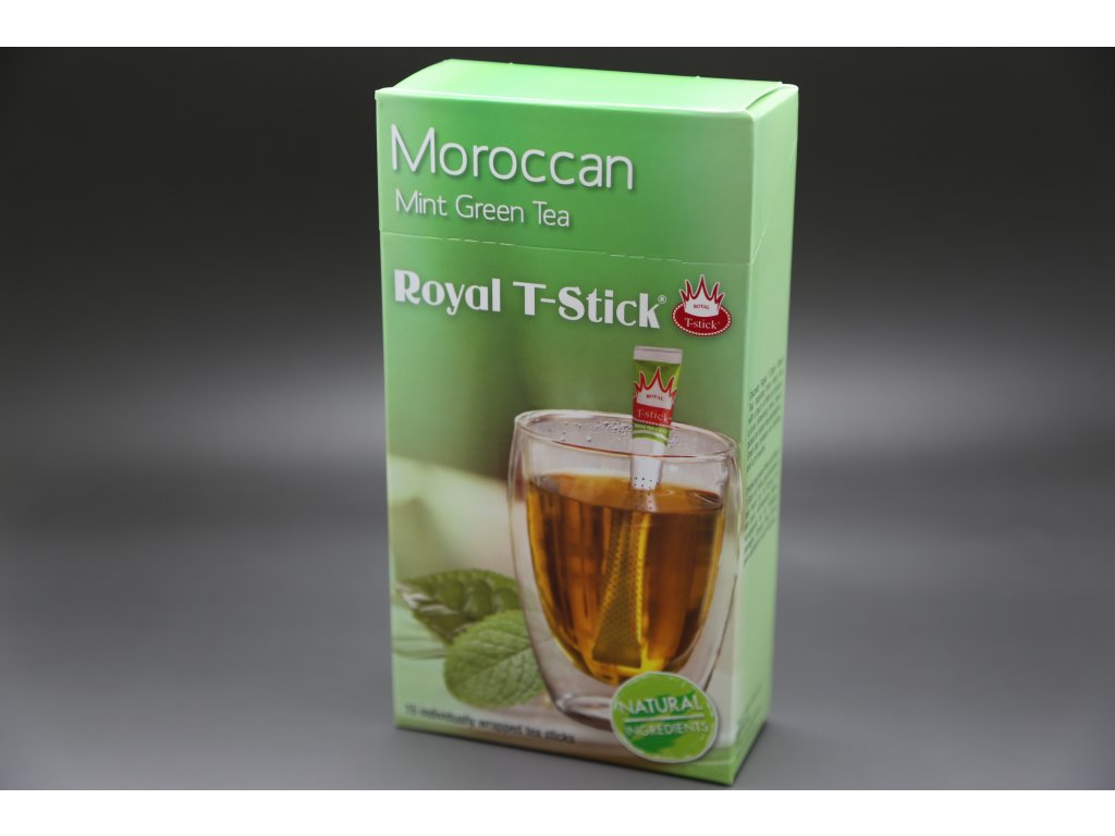 Royal T- Stick, Moroccan Mint Green Tea 15 ks