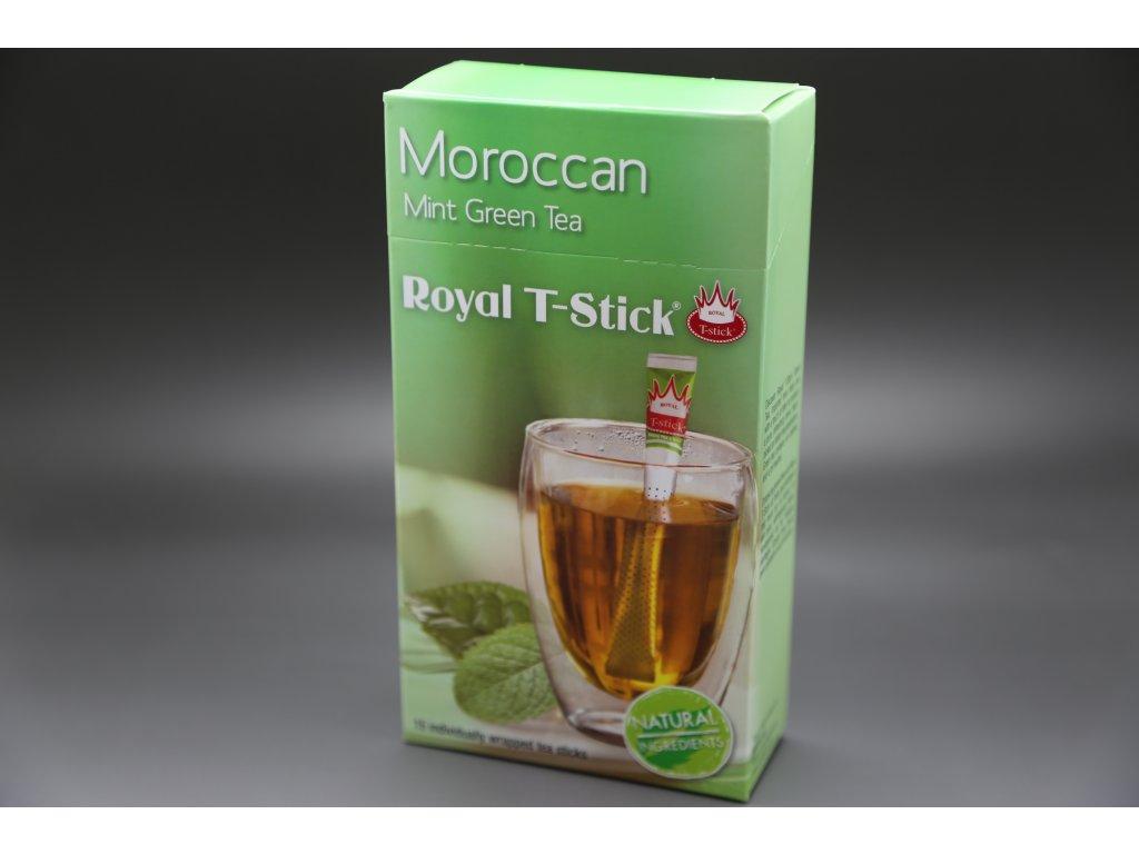 Zelený čaj Marocká máta 15 ks Royal T- Stick