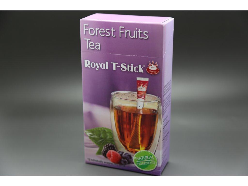 Černý čaj Lesní ovoce 15 ks Royal T- Stick