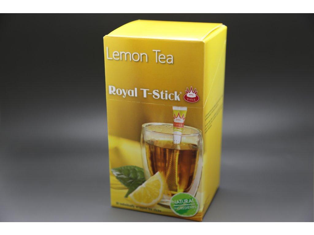 Černý čaj Citrón 30 ks Royal T- Stick