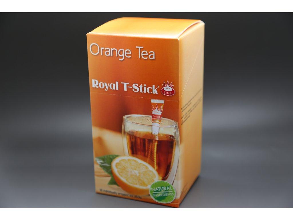Černý čaj Pomeranč 30 ks Royal T- Stick