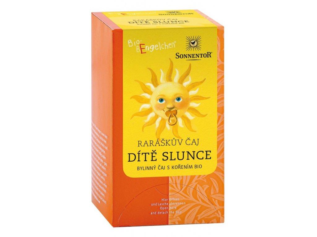 Dítě slunce bylinný čaj s kořením bio