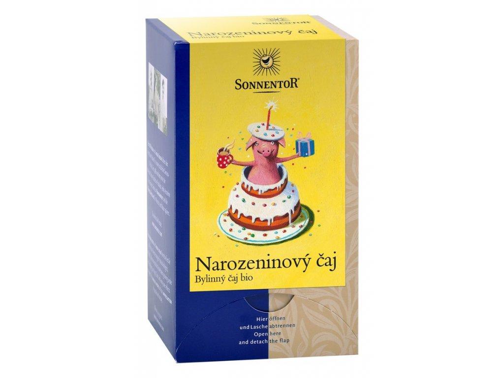 Narozeninový čaj bylinná směs bio