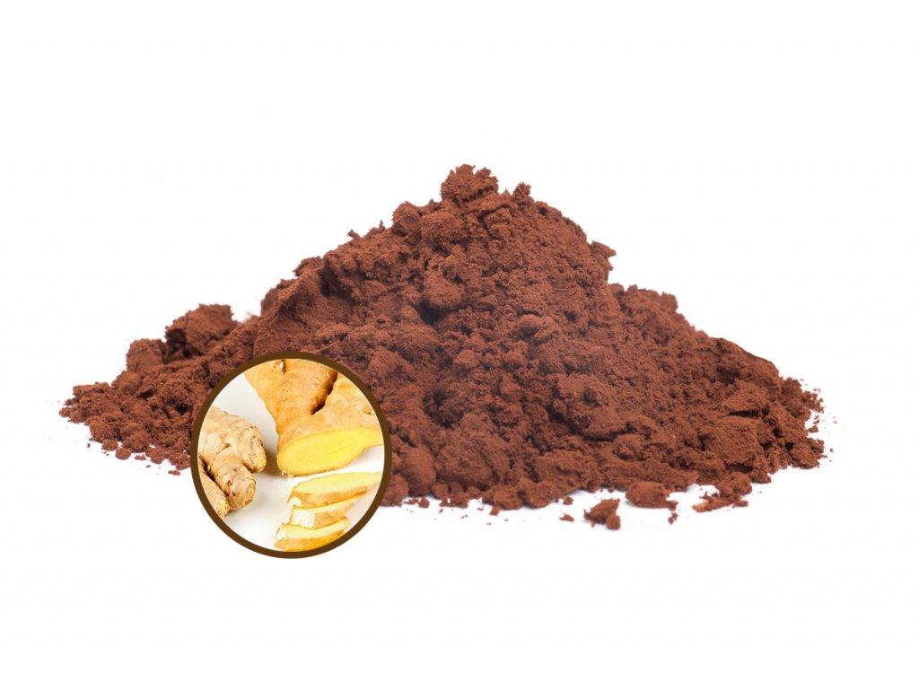 čokoláda zázvor