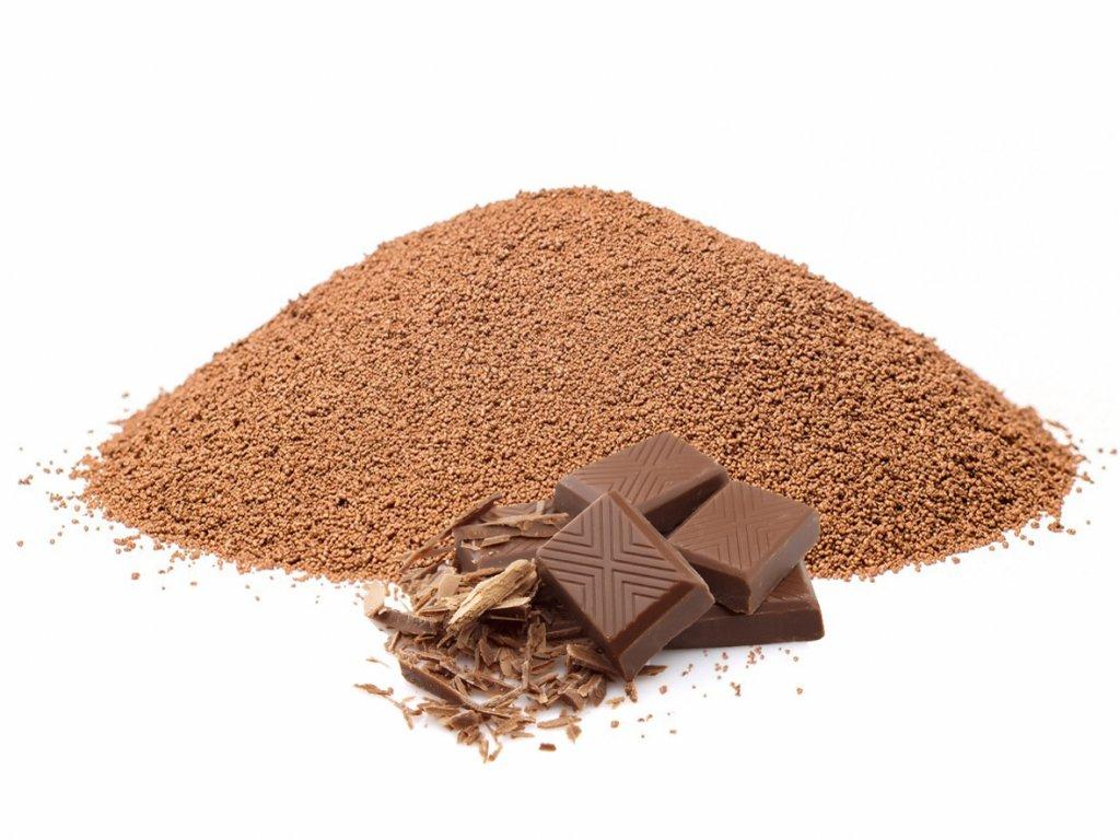 čokoládová rozpustná