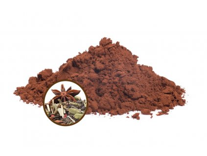 horka cokolada v prasku 42 bio masala chai