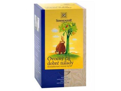 sonnentor ovocny caj dobre nalady bio porcovany 45g