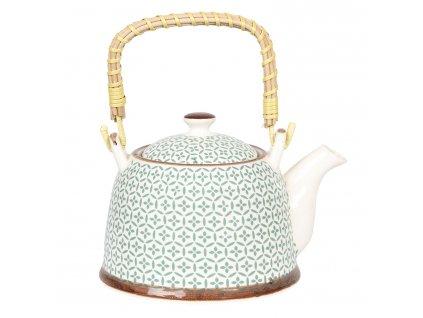 porcelanova konvice na caj se sitkem 181412 cm 07l