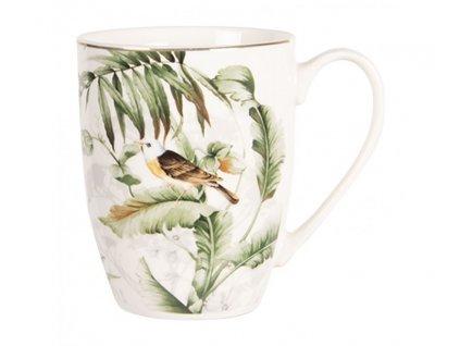 porcelanovy hrnecek tropical birds 036l
