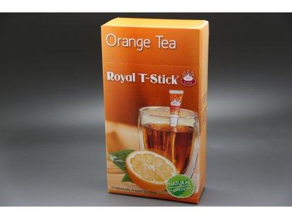 Černý čaj Pomeranč 15 ks Royal T- Stick