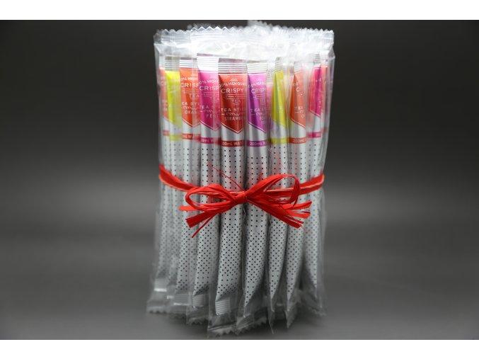 Royal T- Stick CRISPY, Balíček mix černých ovocných čajů 35 ks