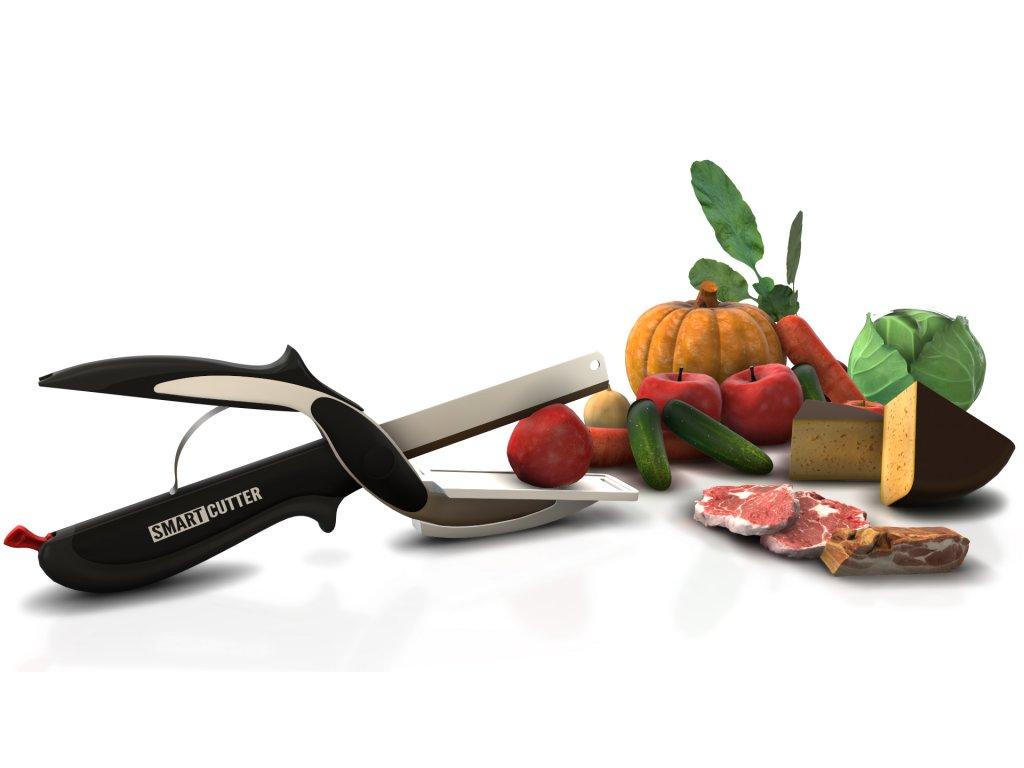 Multifunkční nůžky s prkénkem HERZBERG HG-5043