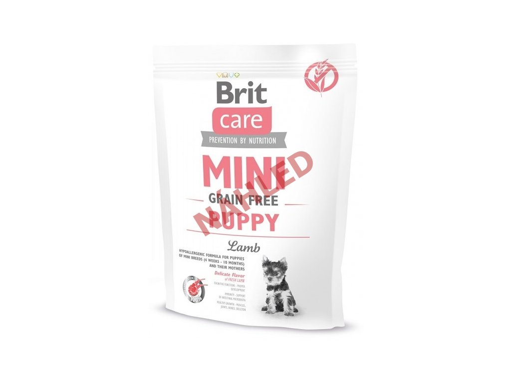 Brit Care mini grain puppy lamb 400g
