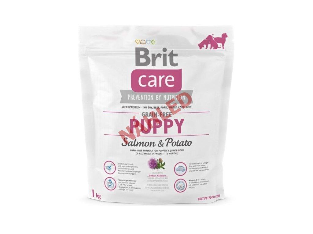 Brit Care Puppy grain free Salmon & Potato 1kg