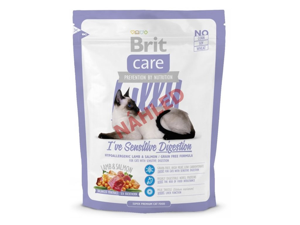 Brit Care Cat Lilly sensitive digestion 400g