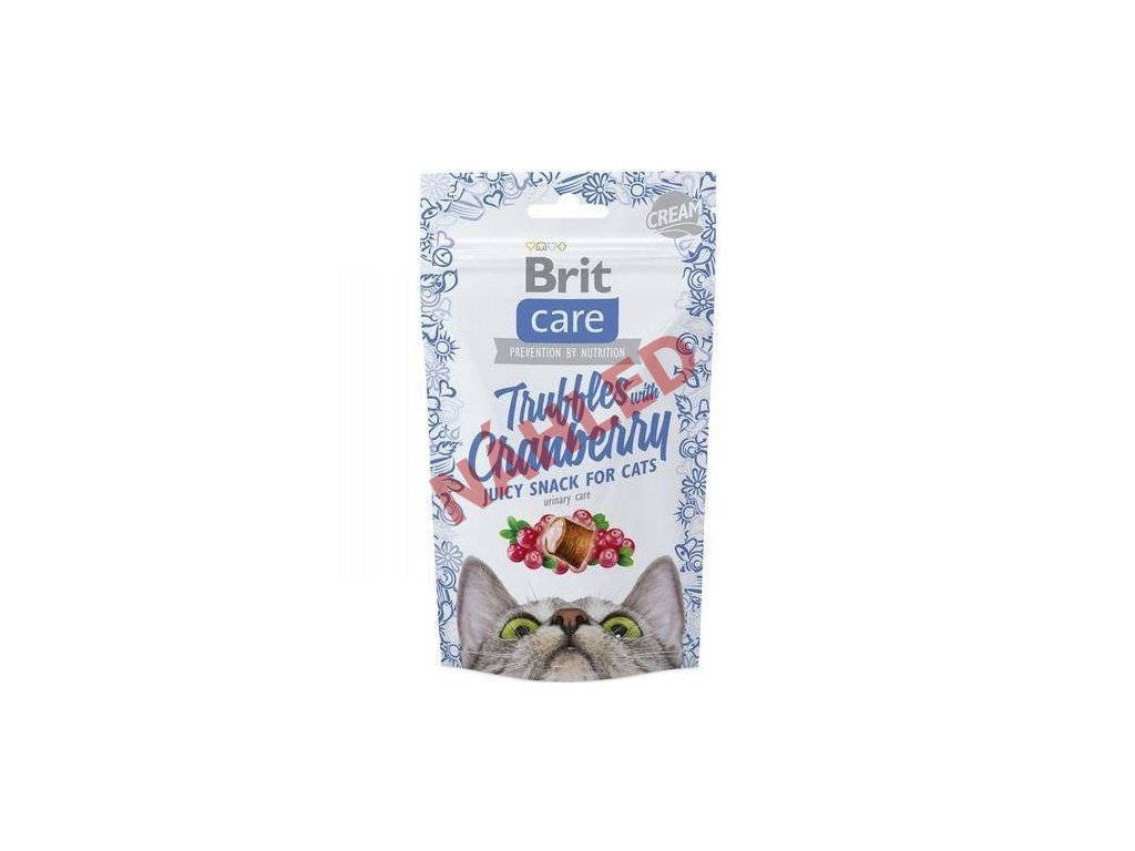 Brit Care Cat Snack truffles with cranberry 50g