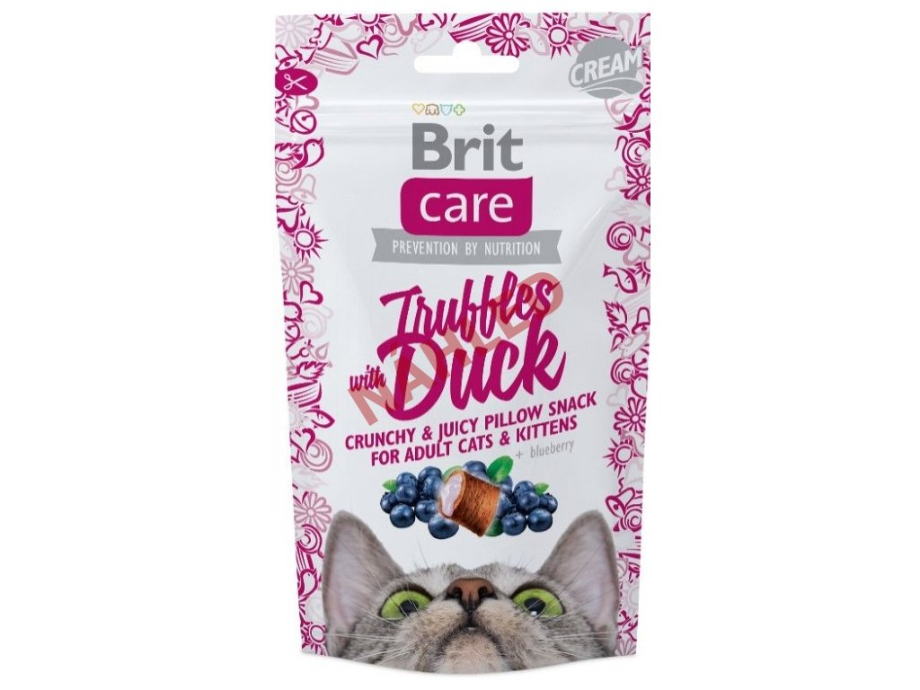 Brit Care Cat Snack truffles with duck 50g