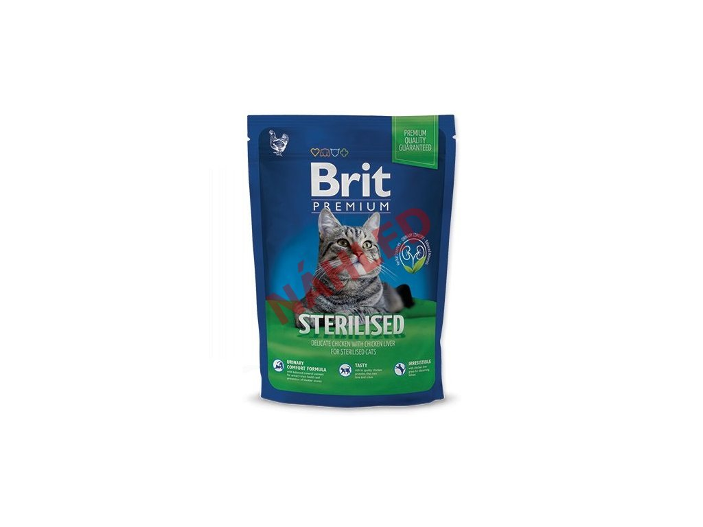 Brit Premium Cat adult sterilised 800g