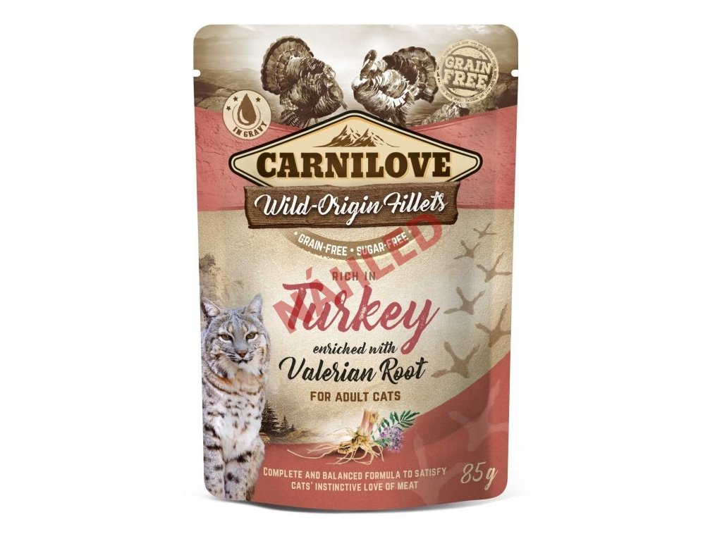 Carnilove turkey with valerian root 85g