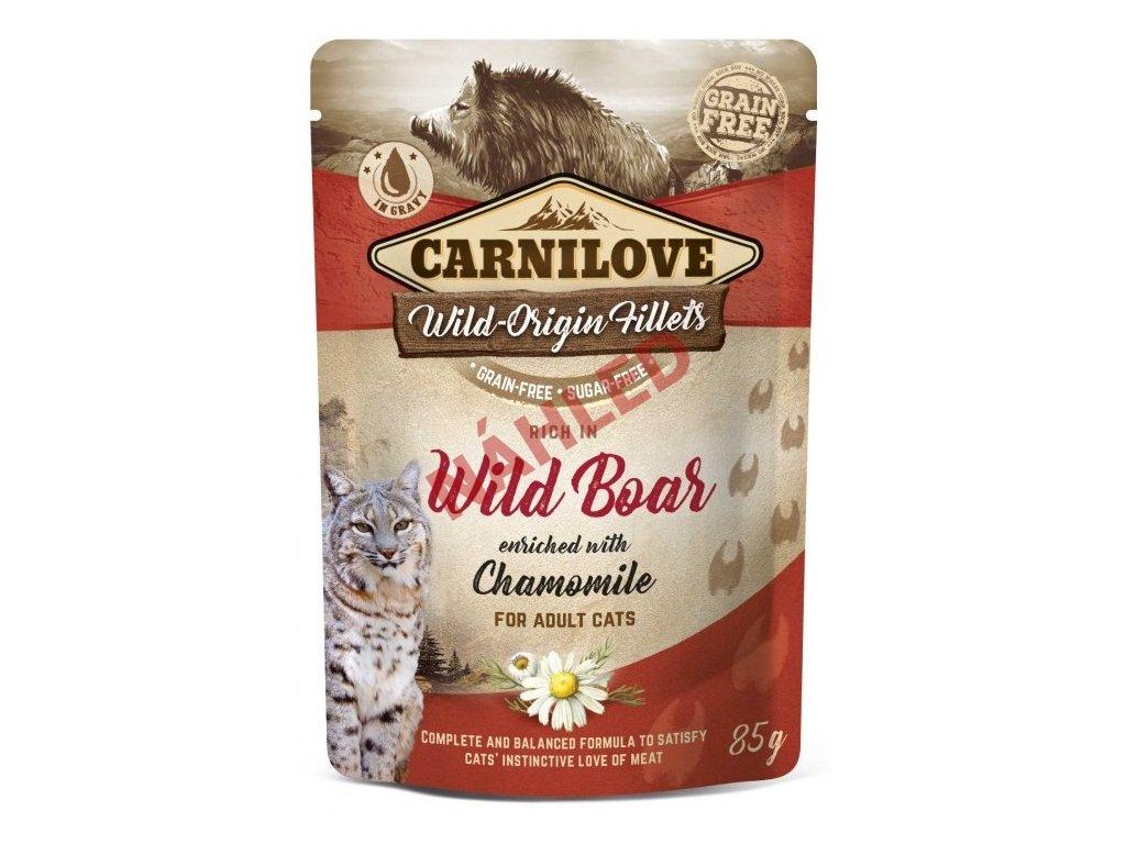 Carnilove wild boar with chamomile 85g