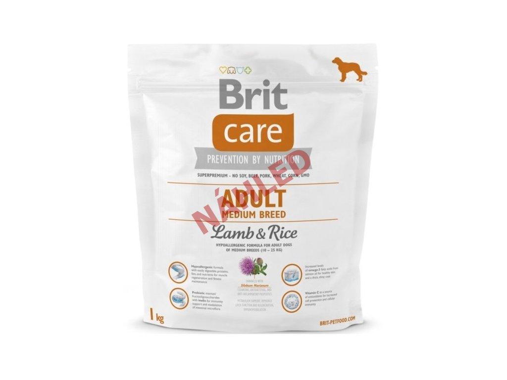 Brit Care Adult Medium Breed 1kg