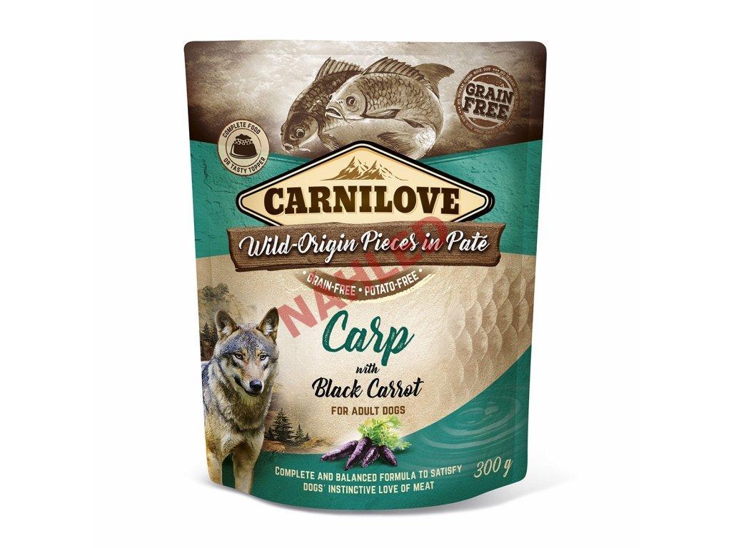 Kapsa Carnilove Carp with Black Carrot 300g