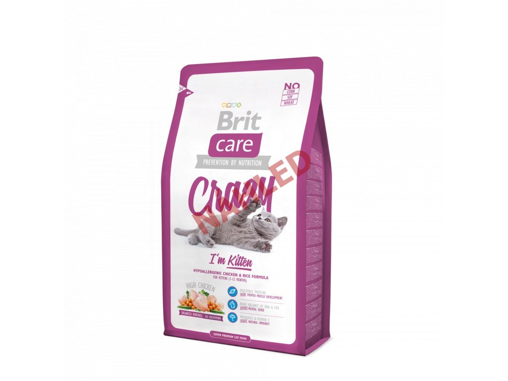 Brit Care Cat Grain Free Kitten Healthy Growth&Development 400g